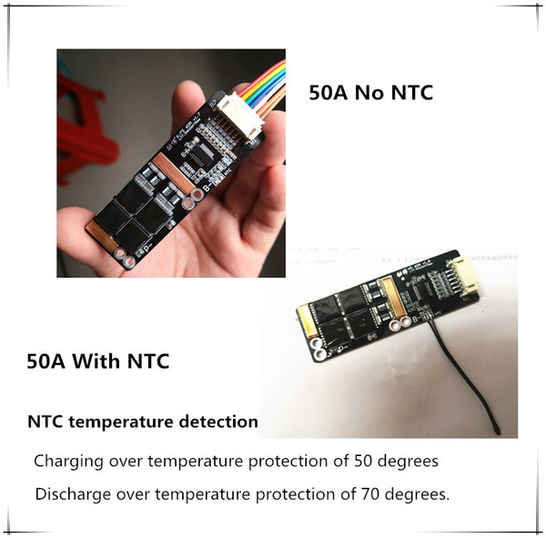 7S 30A/7S 50A BMS 22.4V balanced Lithium iron phosphate /LifePo4 BMS Board