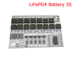10.8V 100A 3S BMS LiFePO4 LiFe Battery Protection Circuit Board