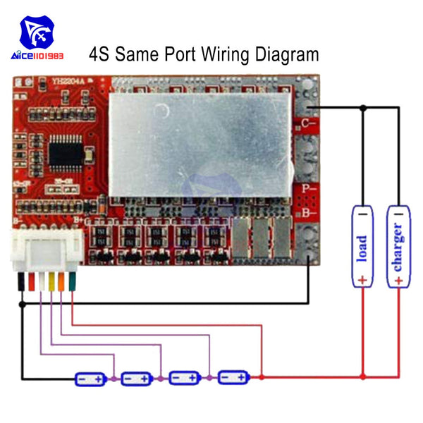 4S 5S 50A BMS Board 3.2V/3.7V Iron Phosphate LiFePO4 Battery BMS Board 3.2/3.7V