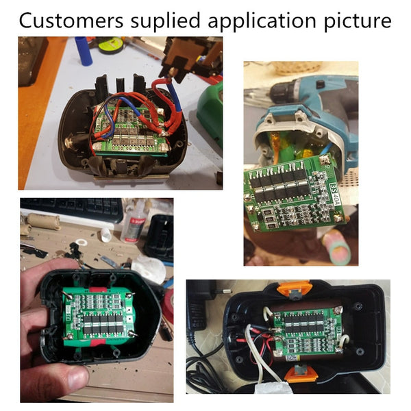 BMS 3S 40A  Balance 18650 3.2V LiFePO4/3.7V Li-ion  battery protection board /iron