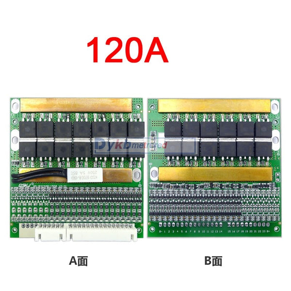 6S-17S 50A 80A 120A w/Balance BMS LiFePO4 Li-ion lithium battery protection Board