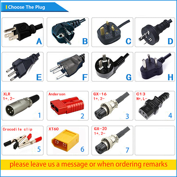 58.4V Power Supply 3A Lifepo4 Battery Charger For 48V  Electric Bike Scooters
