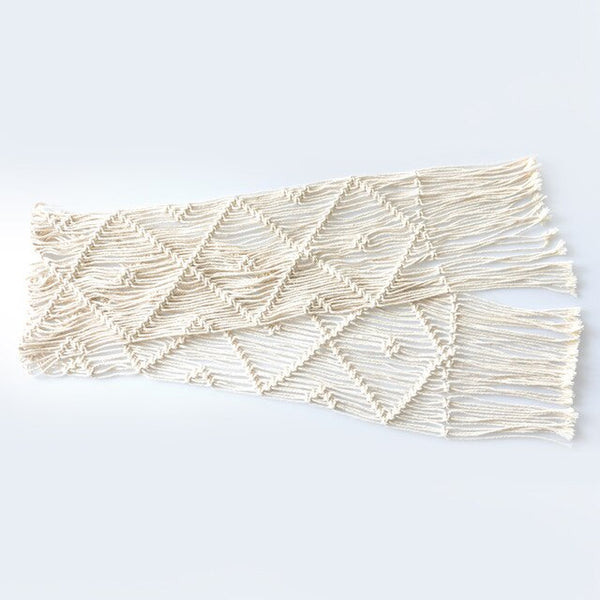 Table Runners Modern Minimalist Coffee Table Mat Macrame Woven Blanket Tablecloth