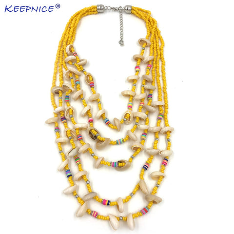 beaded choker necklace for women
