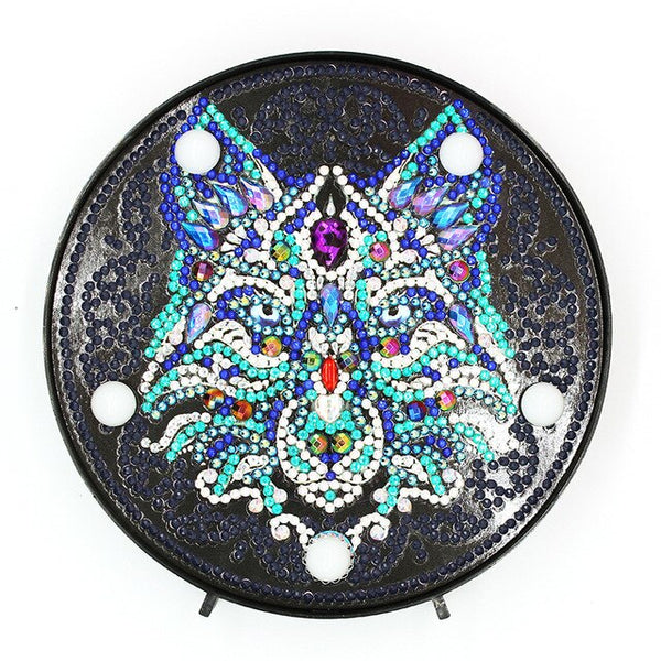 5D DIY Many Pattens Full Drill Diamond Painting Light Lamp Rhinestone Embroidery Special