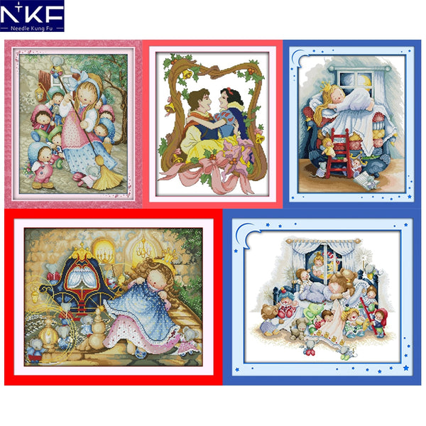 Cross Stitch Pattern for Kids