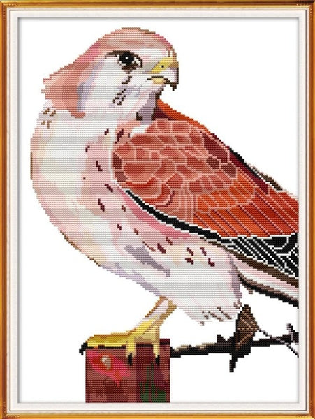 The Eagle and Bird Series Counted Cross-stitch 11CT 14CT Handwork for Beginner