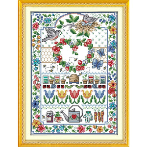 Cross-stitch set Embroidery Needlework