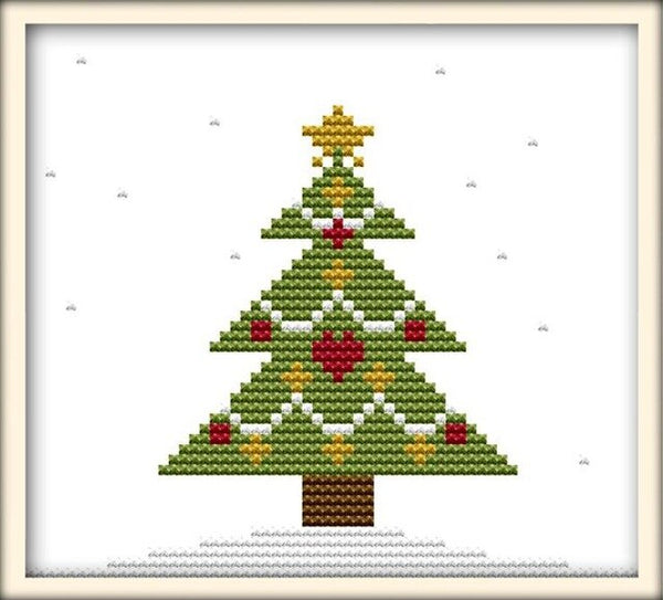 Joy Sunday Christmas Collection Patterns DIY Hand Made Cross Stitch kit DMC 11ct 14ct Embroidery