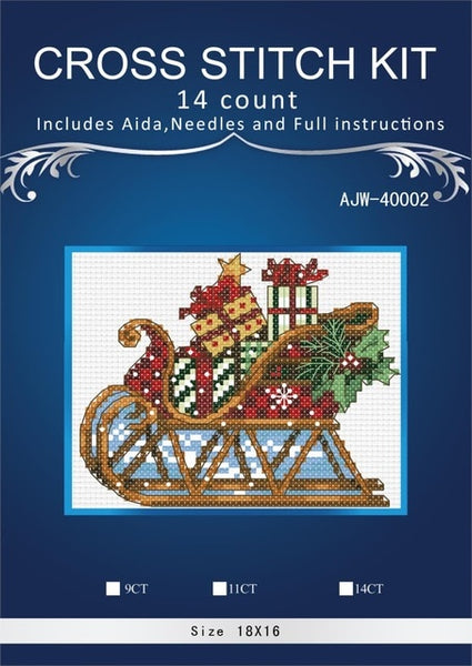 DIY Cross Stitch,Sets For Embroidery kits,11CT&14CT,Flowers in the nest