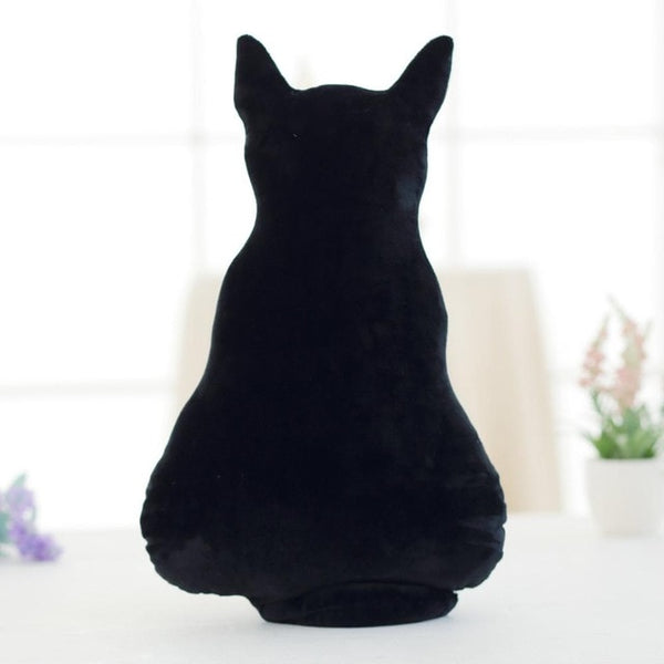 Cat Soft Plush Back Shadow Toy Sofa Pillow Seat Cushion Birthday Gift for Boys or Girls Room