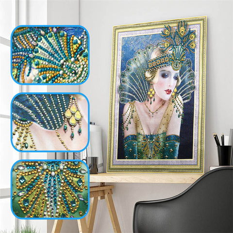 Rhinestone Crystal Painting Home Decoration