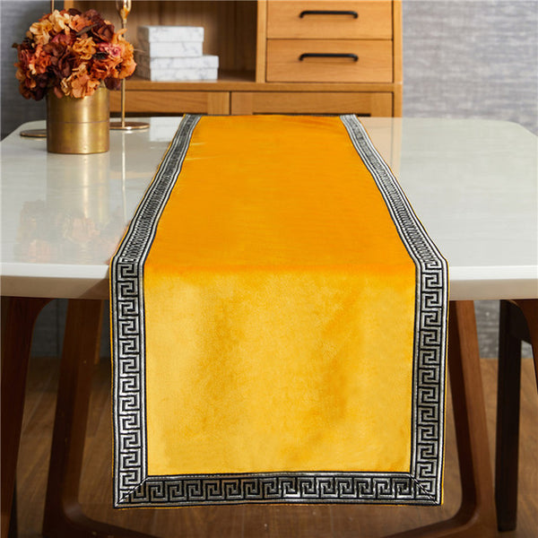 Table Runners Modern Luxury Bed Runner Cloth Rectangle Dining Decoration for