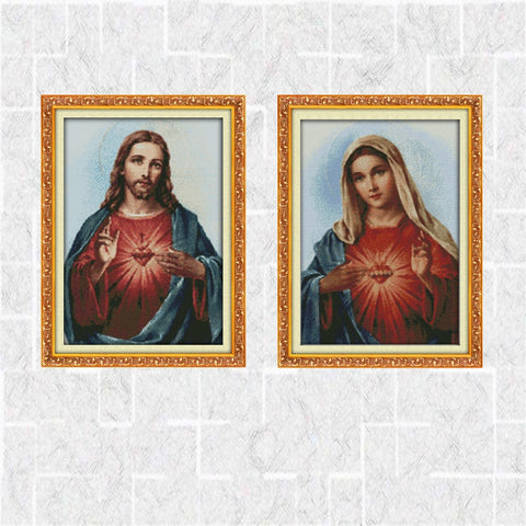 Counted Cross-Stitching Home Decoration