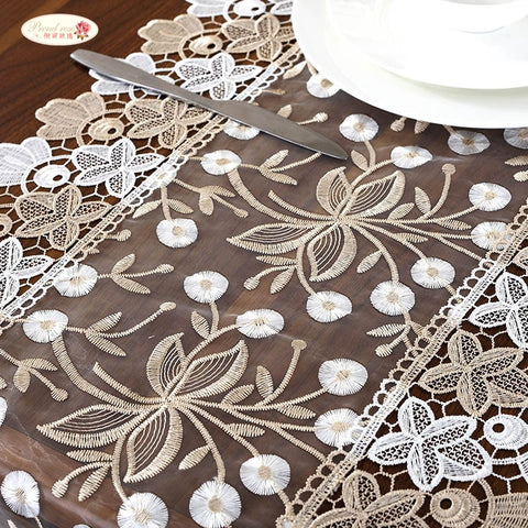 Pastoral Table Cloth Wedding Table Decoration