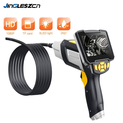Digital Industrial Endoscope 4.3 inch LCD Borescope Videoscope with CMOS Sensor Semi-Rigid