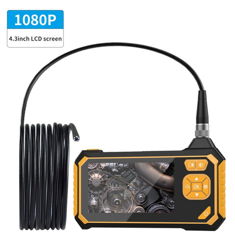 1080P Industrial Endoscope Inspection Camera Portable Handheld Borescope Videoscope