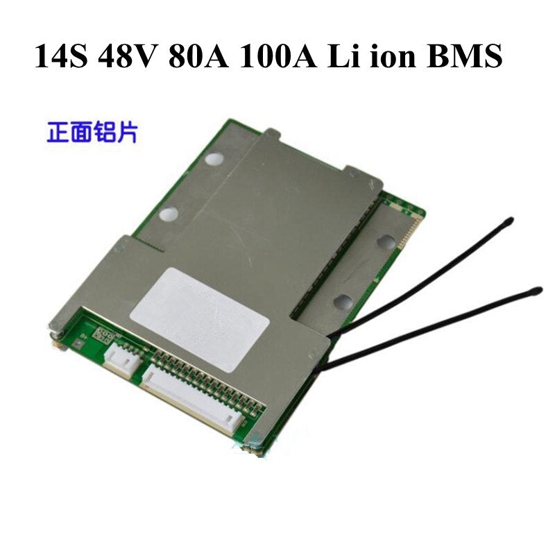 Bluetooth BMS 14S 48V Lithium Polymer Battery PCM BMS for 14S Li-ioner Batty Pcka