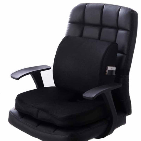 Car Seat Cushion Coccyx Orthopedic Memory Foam Seat Massage Chair Back Cushion