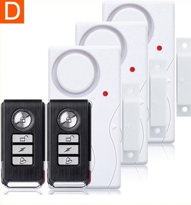 Darho Door Window Entry Security Wireless Remote Control Sensor Alarm Host Burglar