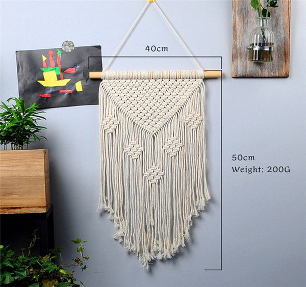 large  macrame tapestry  macrame wall hanging farmhouse decor makramee  room decoration tapestry wall  gift for women