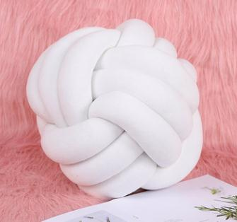 28CM Nordic Knot Pillow Knot Cushion Pillow Knot Decor Cushion Knot Home Decor