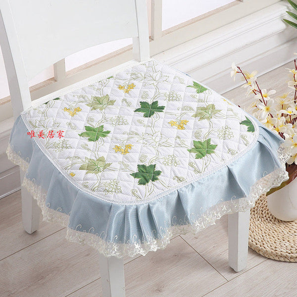 Christmas Decorations For Home Chair Cushion Four Seasons Seat Pad Cotton Soft Chair Cushion