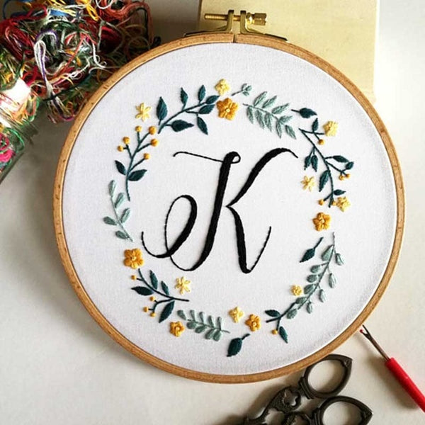 Flower Stereo DIY Handmade Embroidered Needlework Set Embroidery Materials Package Cross Stitch Sewing Supplies Home Decor