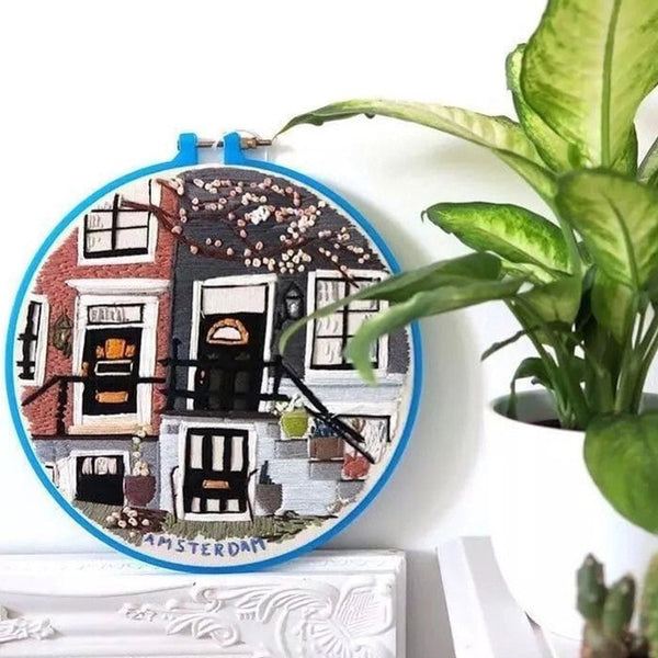 3D Embroidery Beginner Sewing Needlework DIY Embroidery Supplies Handcraft Cross Stitch Kits