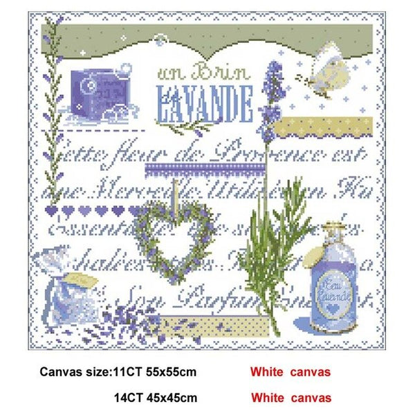 25 photos Lafite Series 2 patterns Counted Cross Stitch 11CT 14CT DIY Chinese Cross Stitch Kits Embroidery Needlework Sets