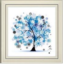 Load image into Gallery viewer, Needlework DIY DMC Cross stitch Sets four season tree