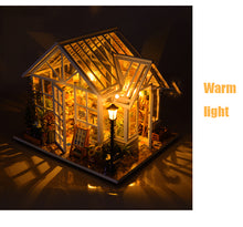 Load image into Gallery viewer, DIY Dollhouse Wooden Doll Houses Toys for Children Gift Sosa Greenhouse