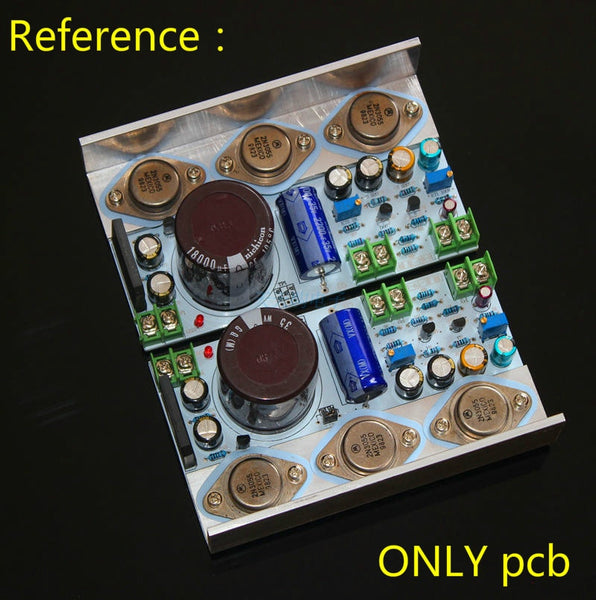 2PCS Hood 1969 Class A amplifier Board Perfect 6 Tube Mute Version Bare PCB