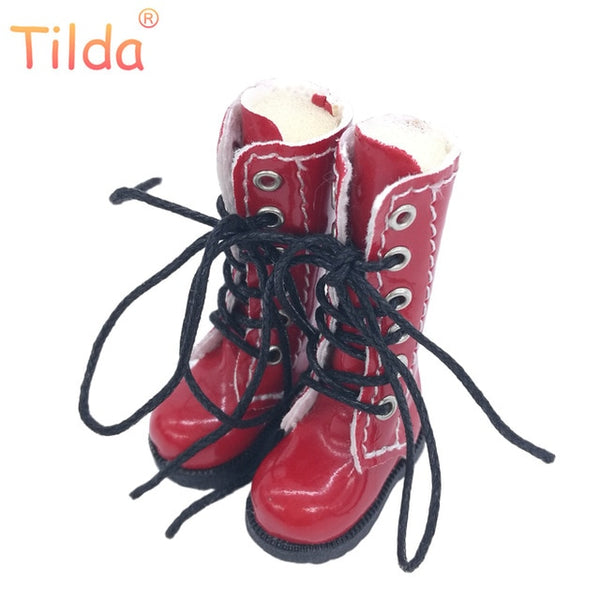 3.2cm Doll Boots for Blythe Doll Toy,1/8 Shoes for Blyth Azone BJD,Casual Puppet Shoes Accessories