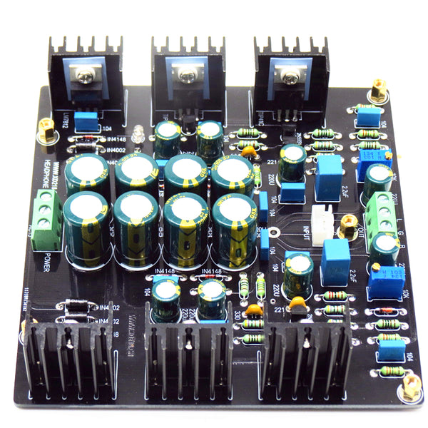 JLH Dual channel single ended 1969 class a AMP pre amplifier preamplifier board