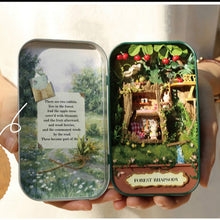 Load image into Gallery viewer, Box Theatre Doll House 3D Mini DIY  Dollhouse Furniture Toy for Gift