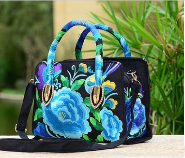National Shopping Floral embroidery
