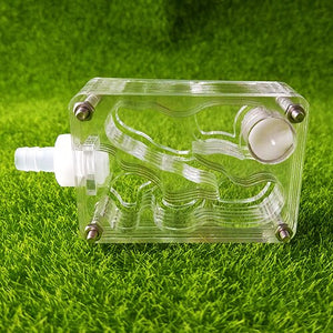 DIY z design ant farm acrylic moisture with feeding area, insect ant  villa pet advanced