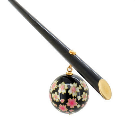 Sakura Hair Stick Japanese Kanzashi Geisha Hair Jewelry Accessories Kimono Headdress