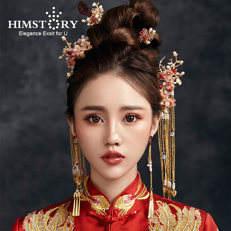 Traditional Chinese Bride Headdress
