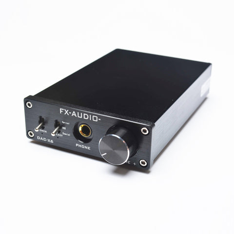 DAC X6 Professional Headphone Amplifier USB Coaxial Optical Decoder