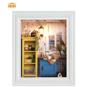 ROOM Miniature Wooden Doll House