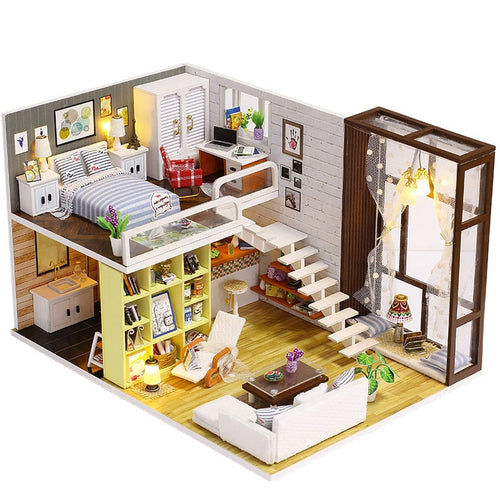 Assemble DIY Doll House Toy