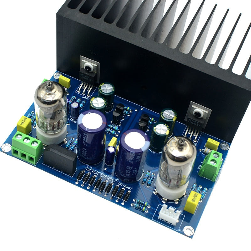 vacuum tube amplifier board 6J1+LM1875 amplifier diy kit and finished  product