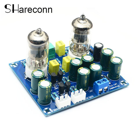 HIFI vacuum tube Preamplifier board valve amplifier ac12v diy kit and finished product