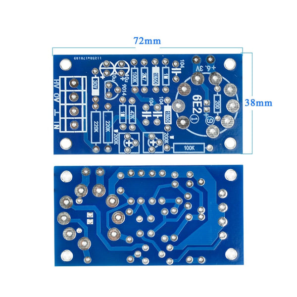 6E2 Tube VU Power Level Driver Board Audio Level Indicator DIY Kits