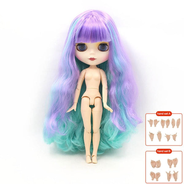 ICY factory blyth doll joint body fashion BJD 30cm 1/6 Nude Factory Dolls toys gift