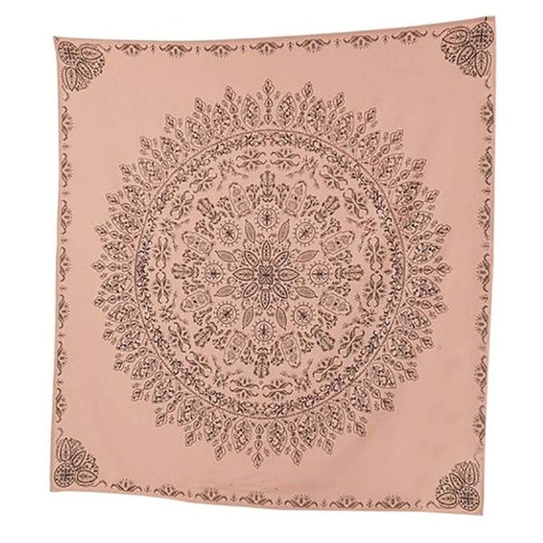 Indian Mandala Tapestry Tai Chi Wall Hanging Tapestries Hippie Bohemian Black Brown Decorative Wall Carpet Yoga Mats