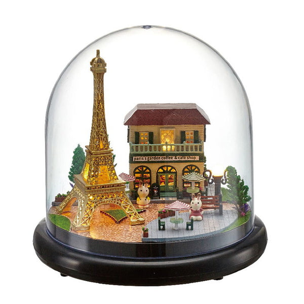 Doll House Miniature For Children Birthday Gift Mood for Love Toys   B015
