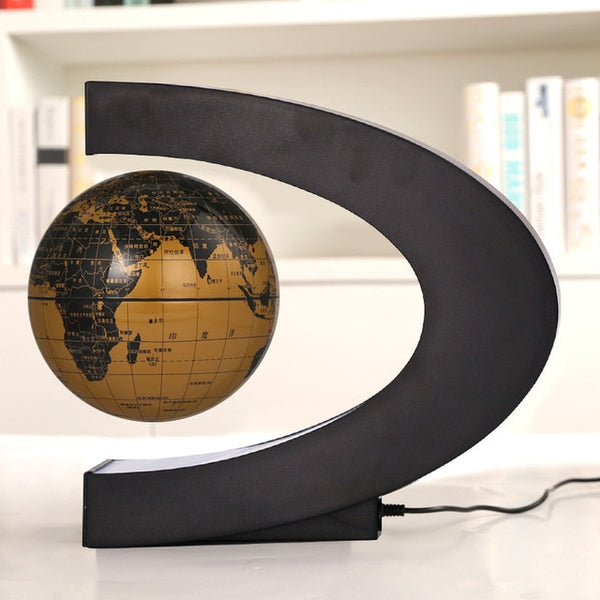 USB illuminating school teaching supplies suspension anti-gravity earth magnetic levitation